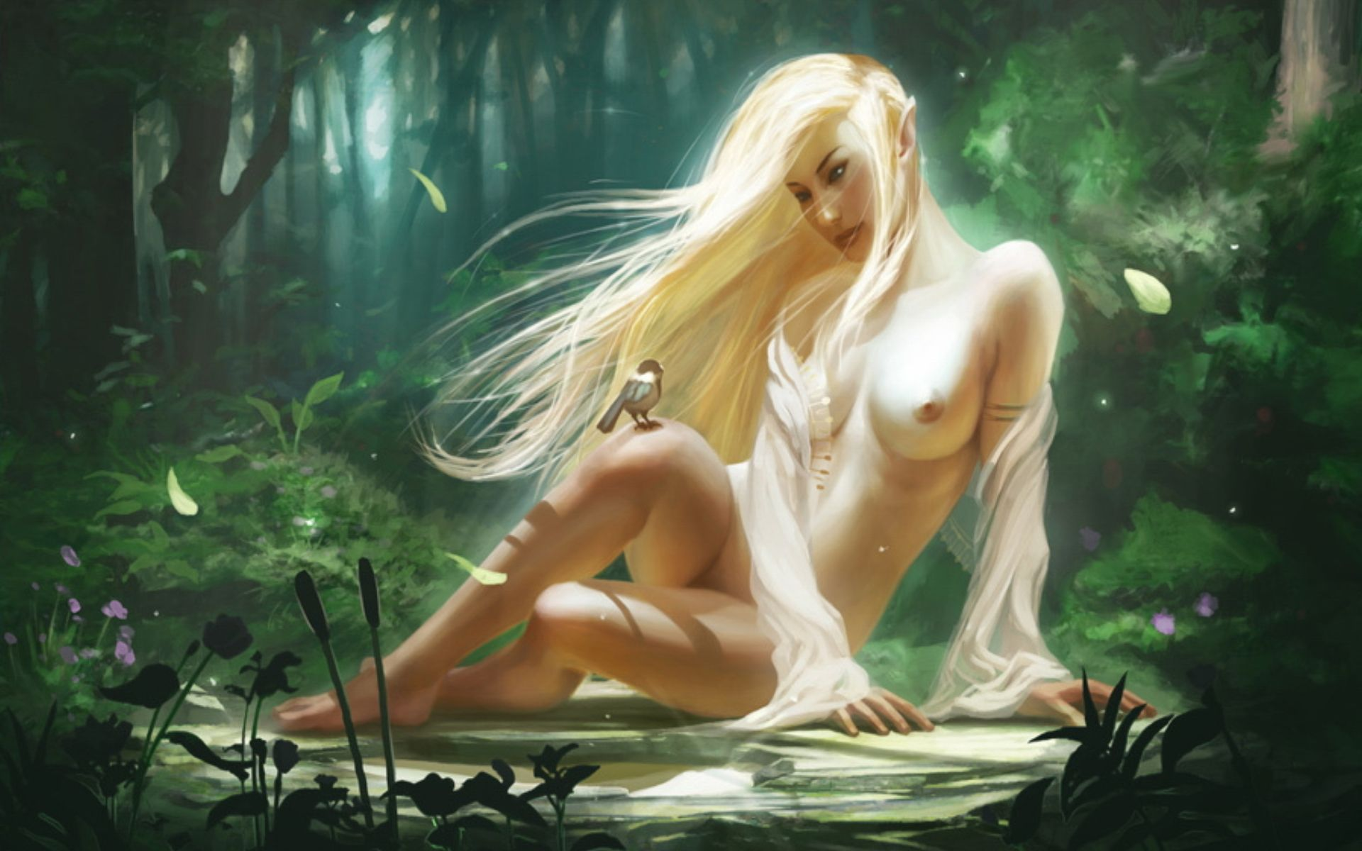 Free naked elves fantasy wallpapers naked scenes